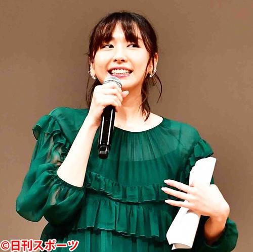 新垣結衣(2019年2月6日撮影)