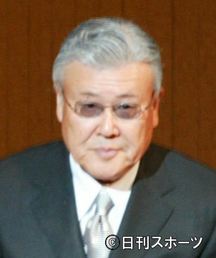 大阪芸術大学入学式 小池一夫=フェスティバルホール(撮影・保田叔久) 2003年4月4日