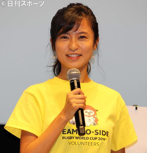小島瑠璃子(2018年4月23日撮影)