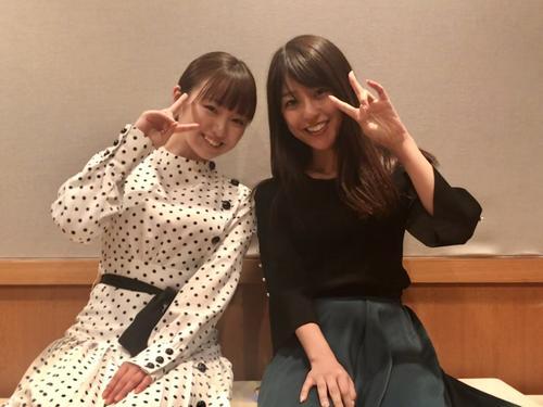 「アッパレやってまーす!」の木曜レギュラーに就任した今泉佑唯(左)と岡副麻希