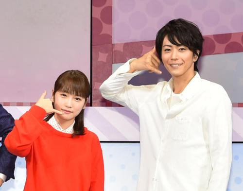 昨年舞台「カレフォン」で共演した川栄李奈と廣瀬智紀