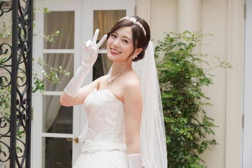 日本テレビ系「俺のスカート、どこ行った?」25日放送の第6話でウエディングドレス姿を披露する白石麻衣