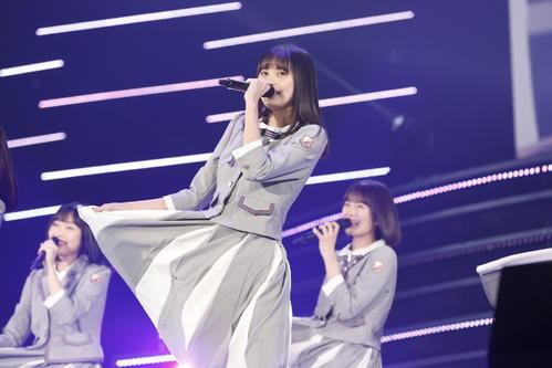 初の単独ライブを開催した乃木坂46の4期生。「4番目の光」でセンターを務めた遠藤さくら