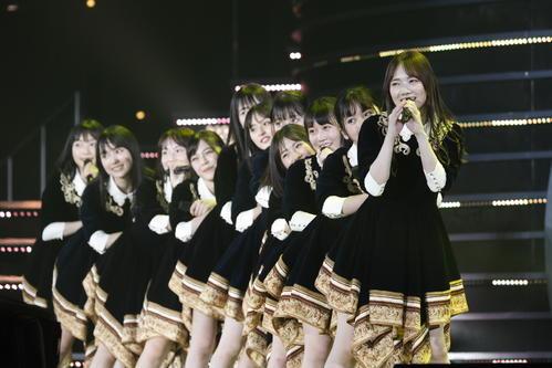 初の単独ライブを開催した乃木坂46の4期生