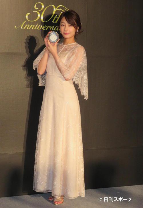 カネボウ化粧品のイベントに参加した宇垣美里