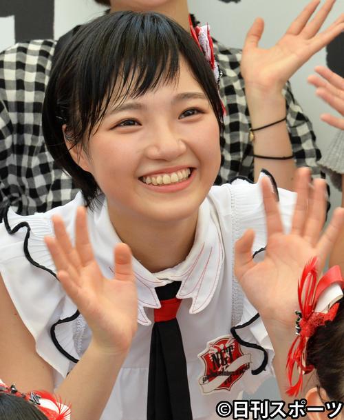 NGT48研究生の山崎美里衣
