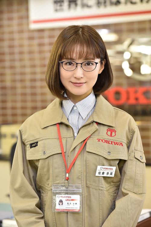 7月期のTBS系日曜劇場「ノーサイド・ゲーム」に出演する笹本玲奈