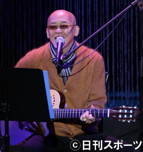 松山千春(2018年4月20日撮影)