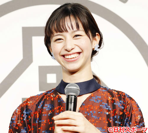 中条あやみ(2018年11月15日撮影)
