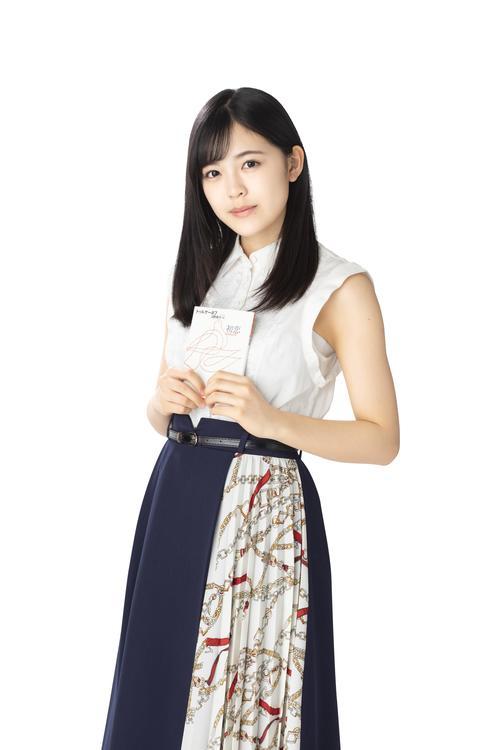 「乃木坂文庫」フェアで「初恋」を担当する柴田柚菜
