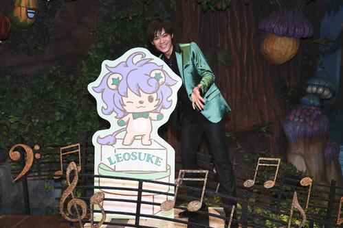 新キャラクター「れおすけ」誕生記念イベントを行った新浜レオン