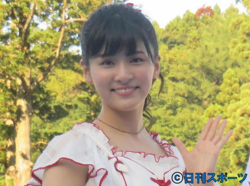 NGT48村雲颯香(2018年7月31日撮影)