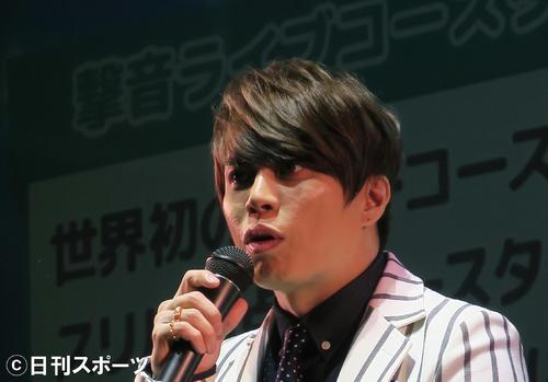 西川貴教(2016年7月12日撮影)