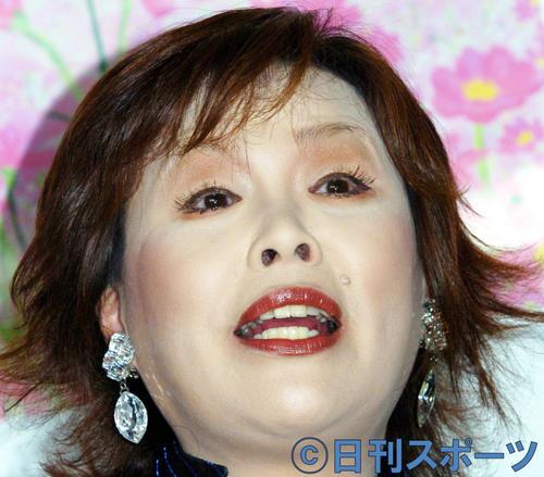 上沼恵美子(2004年6月25日撮影)