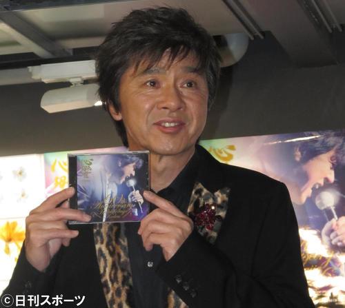 西城秀樹さん(2015年4月13日撮影)