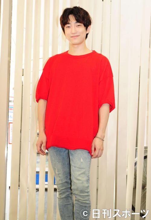 「奪い愛、夏」で、日本の連続ドラマ初出演をはたしたテジュ(撮影・松本久)