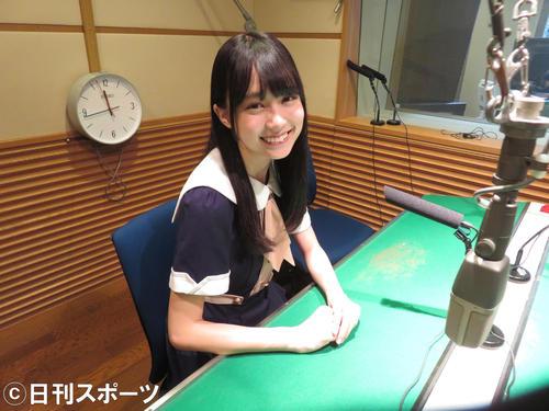 新曲のPRキャンペーンで名古屋のラジオ各局を訪れた乃木坂46の賀喜遥香