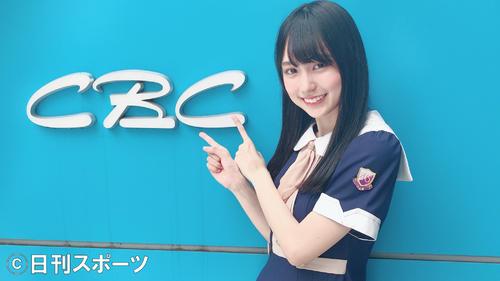 新曲のPRキャンペーンで名古屋のCBCラジオを訪れた乃木坂46の賀喜遥香