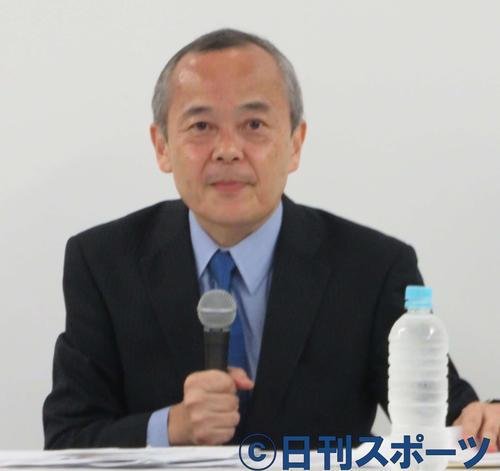 川上和久氏(2019年8月8日撮影)