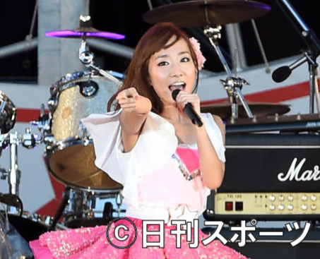 高垣彩陽(2014年9月14日撮影)