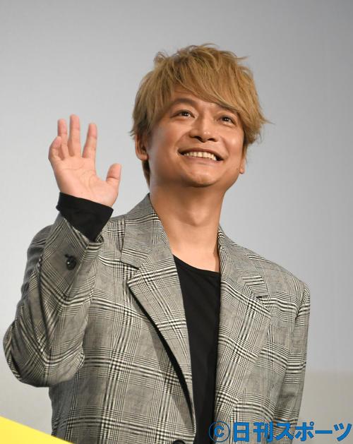 香取慎吾(2019年7月6日撮影・酒井清司)