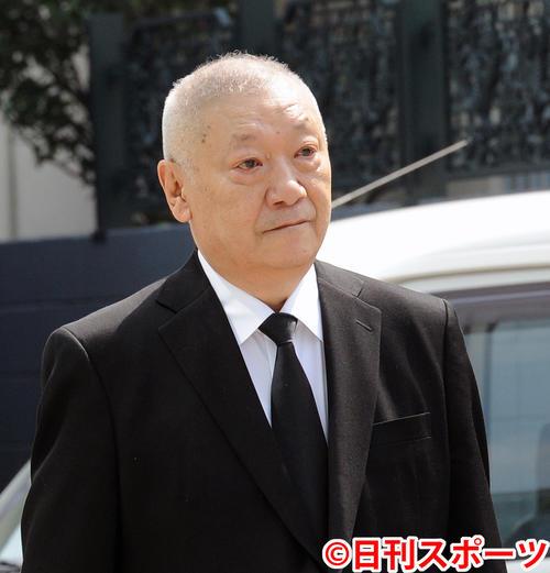 安部譲二さん(2013年8月29日撮影)