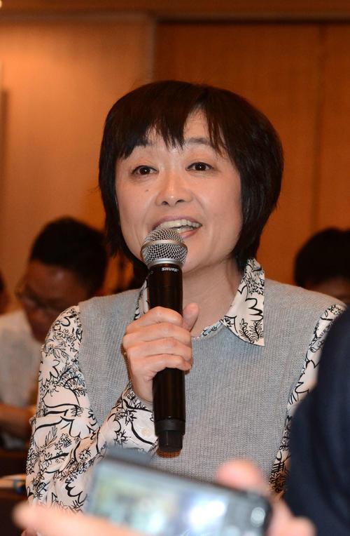 増田明美さん(2016年3月17日撮影)