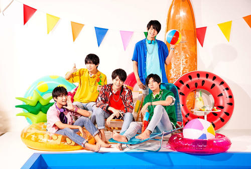 Hi☆Fiveの左から野口友輔、大谷悠哉、林拓磨、加藤大悟、大友海
