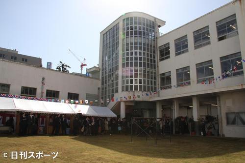 吉本興業グループ東京本部の社屋(2008年04月01日撮影)
