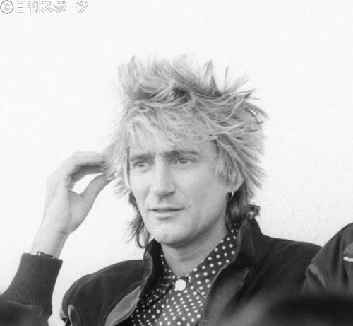 ロッド・スチュワート(1984年12月9日撮影)