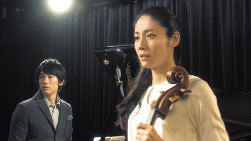 映画「エンジェルサイン」の主題歌を担当することが分かったディーン・フジオカ(左)と松下奈緒