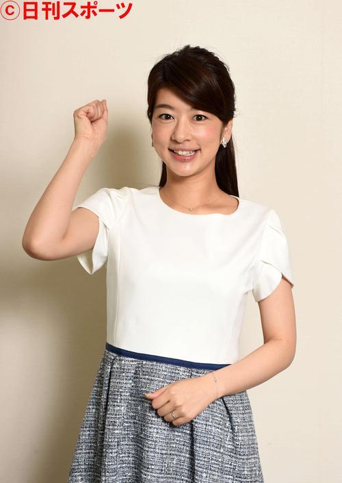 生野陽子アナウンサー(15年5月21日撮影)