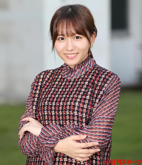初主演の舞台に、ワクワクした笑顔を見せる大場美奈(撮影・佐藤勝亮)