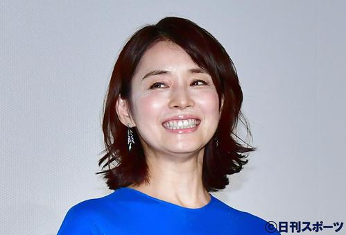 石田ゆり子(2018年8月23日撮影)