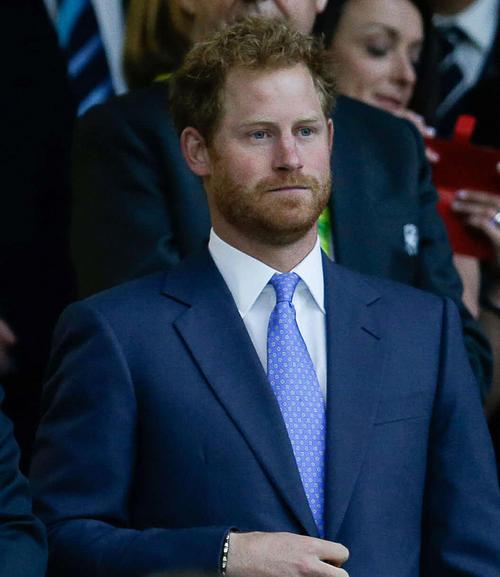 ヘンリー王子(15年9月18日撮影・PIKO)