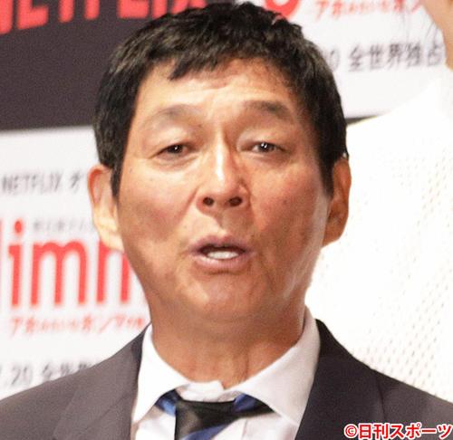 明石家さんま(18年7月撮影)