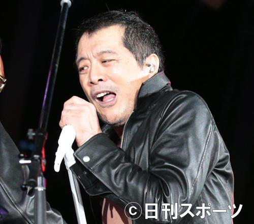 矢沢永吉(2012年9月1日撮影)