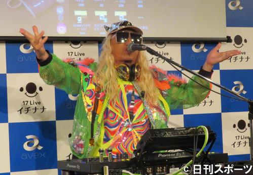 DJ KOO(18年撮影)