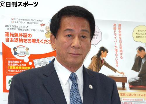 杉良太郎(19年6月撮影)