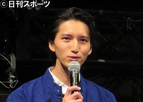 田口淳之介(18年2月撮影)