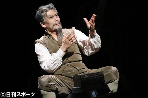 「ラ・マンチャの男」に主演する松本白鸚
