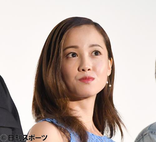 沢尻エリカ(2018年6月5日撮影)