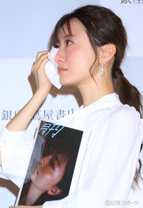 突然今までの女優人生を振り返って号泣する松本まりか(2019年11月8日)