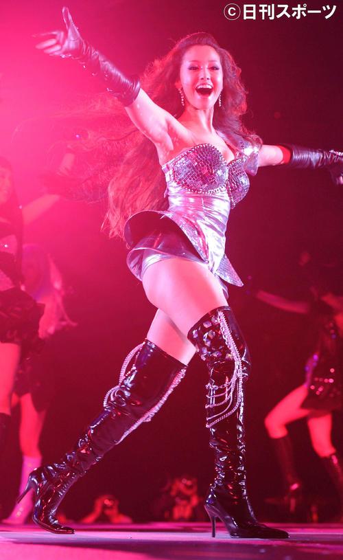 10年5月、「ガールズアワード2010」に出演する沢尻エリカ容疑者