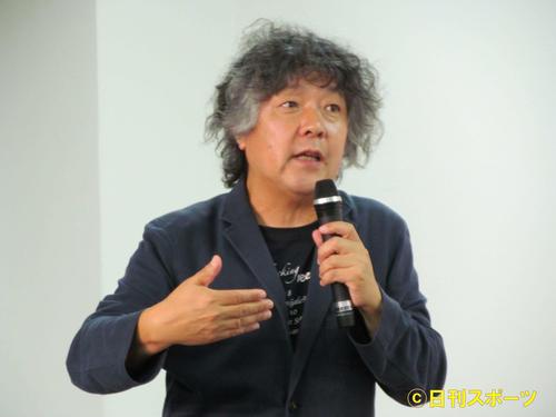 茂木健一郎(2017年5月24日撮影)