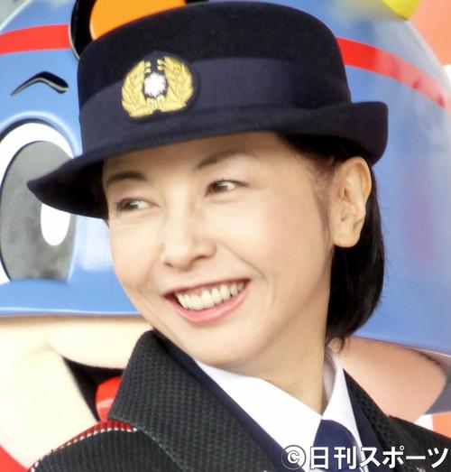 麻木久仁子(2012年11月9日撮影)