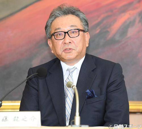 フジテレビ遠藤龍之介社長(2019年6月7日撮影)