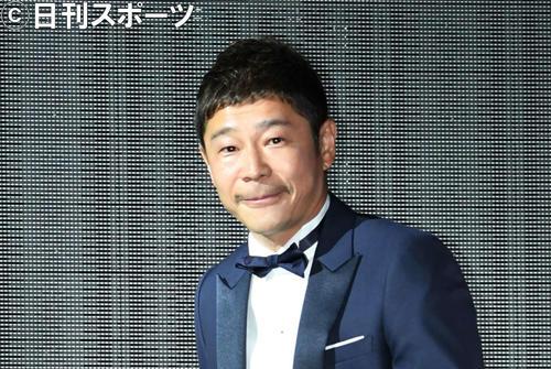 前澤友作氏(18年12月撮影)