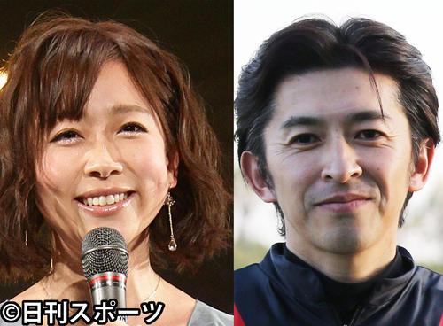 Satoshi Matsuo announcer [left] and Yuichi Fukunaga