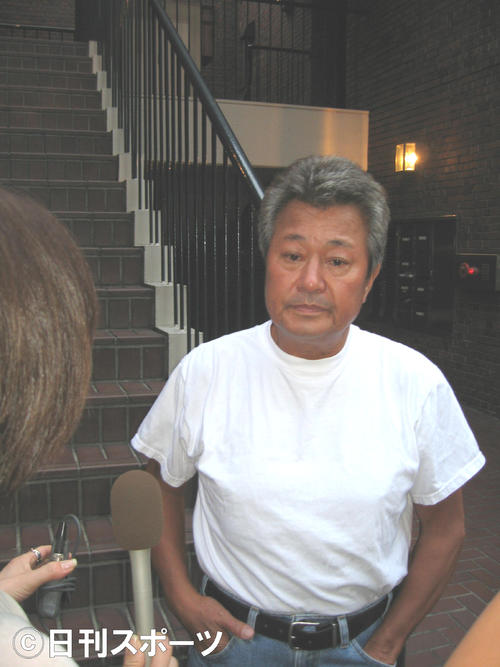 07年、羽賀氏の逮捕について語る梅宮辰夫さん